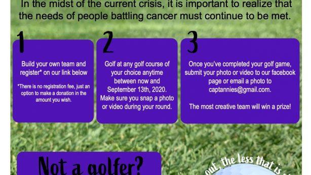 5th Annual CASC Virtual Golf Outing – 2020